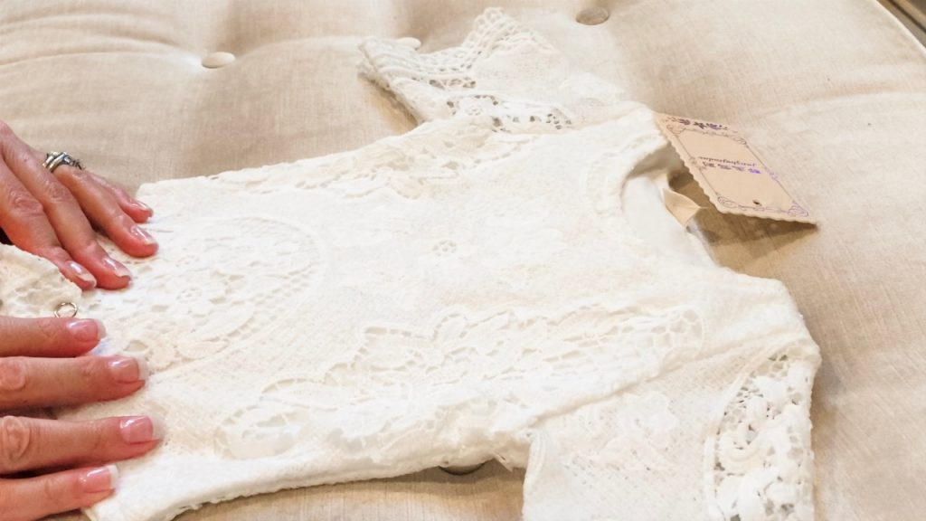 Lace Romper for Baby Girl