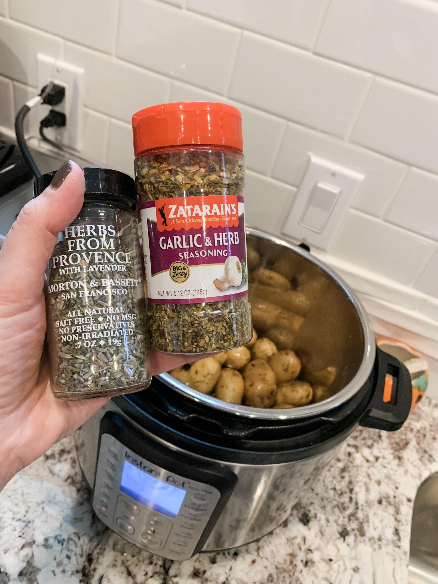 Instant Pot Baby Potatoes